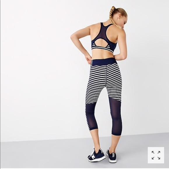 buy popular 730f2 ebf60 New Balance for JC high-waisted leggings in stripe